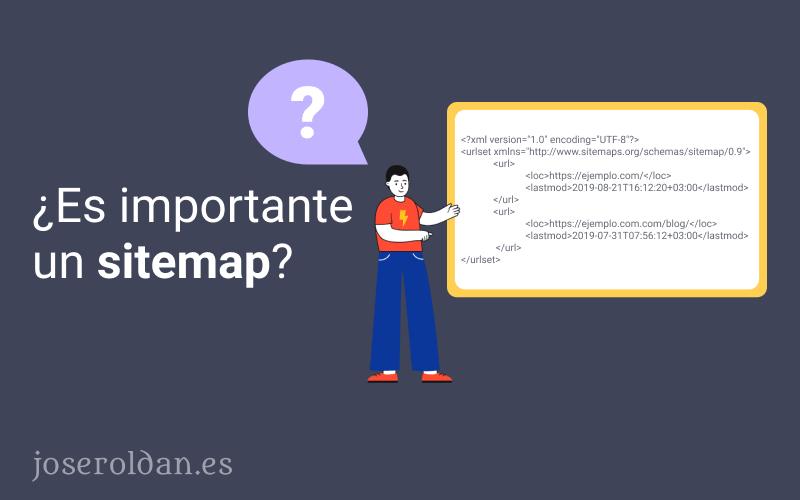 ¿Por qué es importante el sitemap?